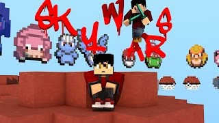 MINECRAFT SKYWARS-Hacker o lag??? WTF???