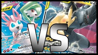 **NEW** Gardevoir & Sylveon GX vs Pikachu & Zekrom GX - Unbroken Bonds Pokemon TCG Gameplay