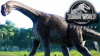 Jurassic World Evolution Gameplay German #21 - Langhals Dino