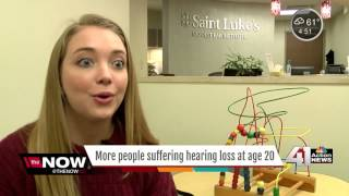Study finds young adults experience hearing loss