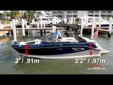 Sea Ray SLX - W 230 (2017-) Test Video - By BoatTEST.com