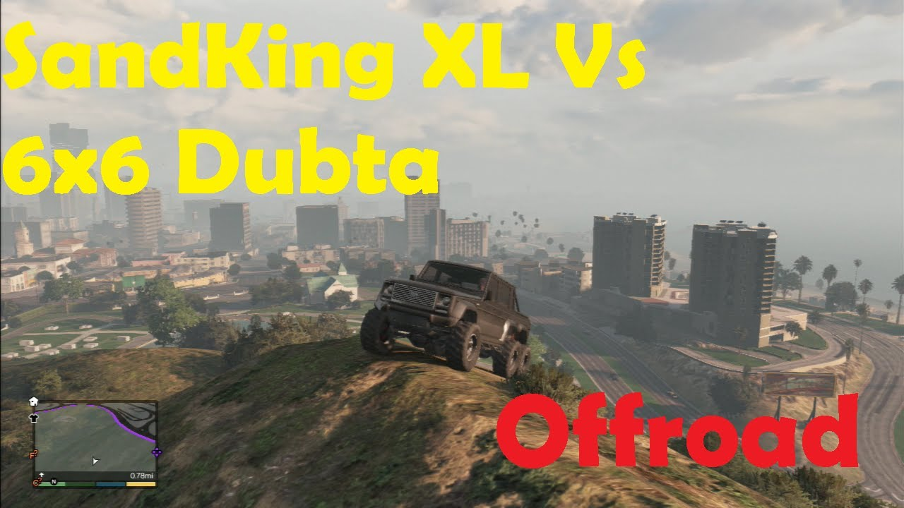 Gta Dubsta 6x6 Gta 5 Sandking xl vs Dubsta