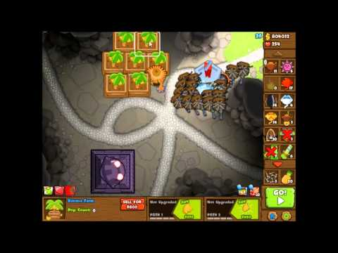 Bloons Monkey City Contested Territory - Caves