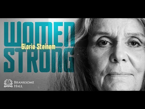 Women Strong: Gloria Steinem at Convocation Hall