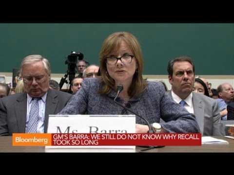 GM's Mary Barra: `I Am Deeply Sorry' for Ignition Defect