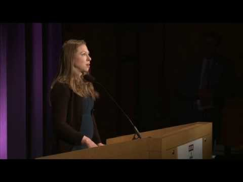 Chelsea Clinton Discusses Childhood Obesity at the Harvard T.H. Chan School of Public Health