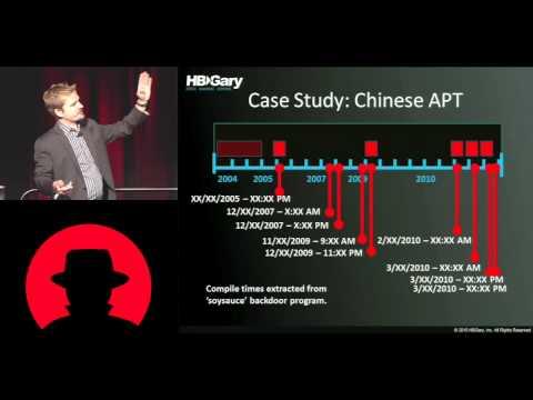 Blackhat 2010   Malware Attribution tracking cyber spies   Greg Hoglund    Part