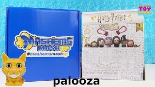 Captain Marvel Mashems Squishy Box & Harry Potter Backpack Buddies Toy Opening | PSToyReviews