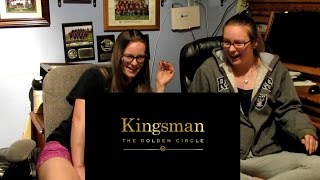 Kingsman - The Golden Circle OFFICIAL Trailer Reaction and Review