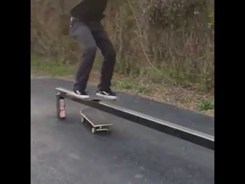 Tag someone who would do try this @streetgenius 🎥: @beautiful.vibrationz | Shralpin Skateboarding