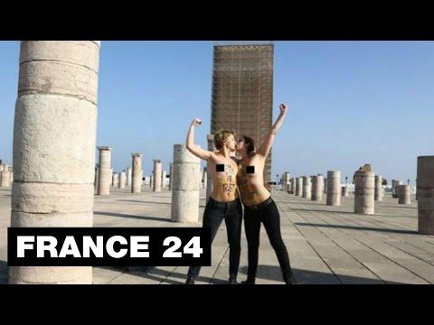 Protestation anti-Femen au Maroc – 1500 personnes dénoncent