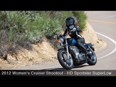 MotoUSA Women's Cruiser Shootout:  2012 Harley-Davidson Sportster SuperLow