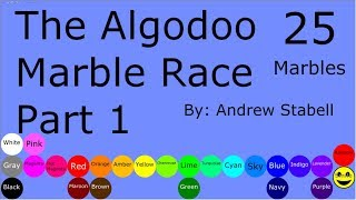 The Algodoo Marble Race Part 1