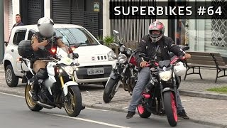 ENQUADRO NA XJ6 QUE O RENATO GARCIA TROLLOU - SUPERBIKES #64