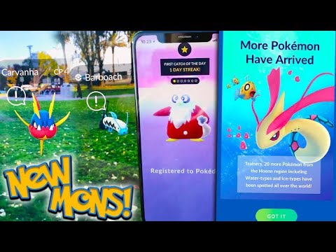 NEW GEN 3 POKÉMON + AR FEATURE COMING TO POKÉMON GO!