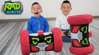 Turbo Bot Voice Command  Dancing Spinning Robot Fun With CKN Toys