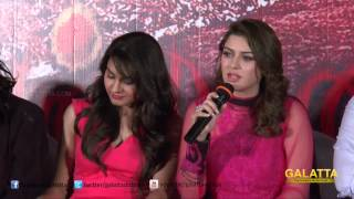 I did not reduce weight particularly for Aranmanai - Hansika