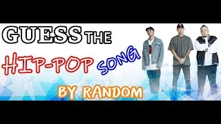 Guess The HIP-POP Song By RANDOM