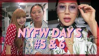 NYFW Days 5 & 6: Lisa (리사) from BLACKPINK, Michael Kors, Oscar de la Renta // Vlog #65 | Aimee Song
