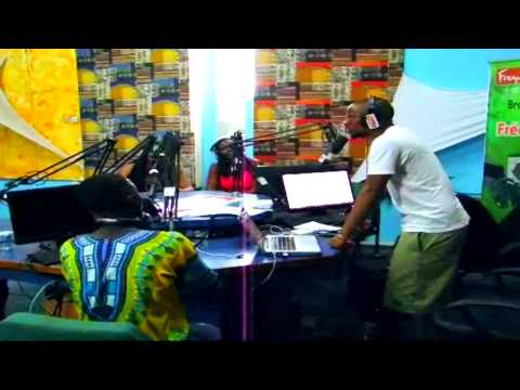 Yung Chris Invité a la radio Cote d'ivoire ( Hip Hop Session )