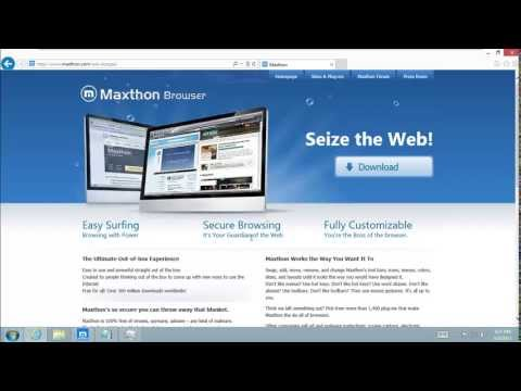 Maxthon Web Browser Security Test