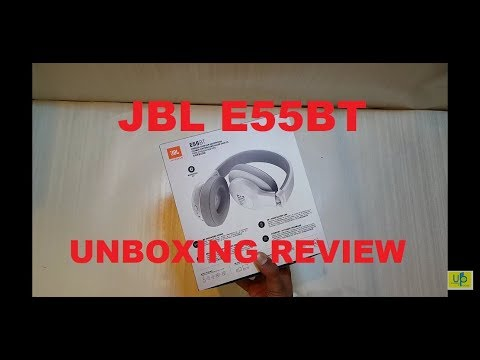 JBL E55BT Headphone unboxing. Wireless Over-Ear Headphones unboxing .full review india