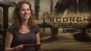 MAZE RUNNER: THE SCORCH TRIALS - Laura Tesoro interviewt de cast – NL