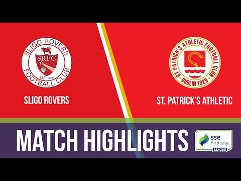 GW2: Sligo Rovers 0-1 St  Patrick's Athletic