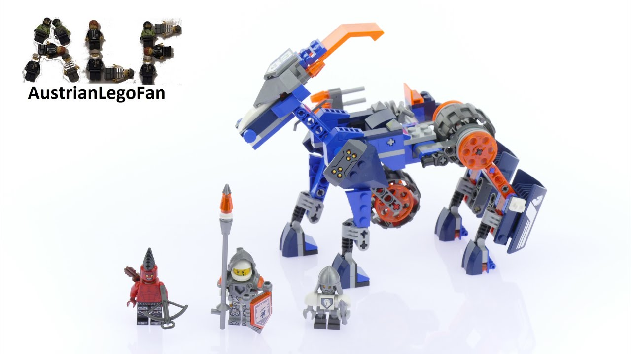 Lego Nexo Knights 70312 Lance S Mecha Horse Lego Speed Build All