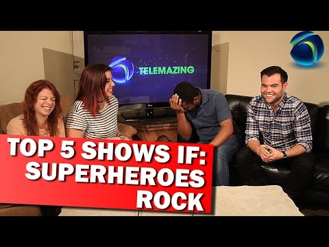 TOP 5 SHOWS IF: You Love Superheroes | TELEMAZING