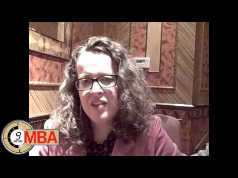 30 Second MBA: Genevieve Bell, How do you deal with workplace anxiety and stress?