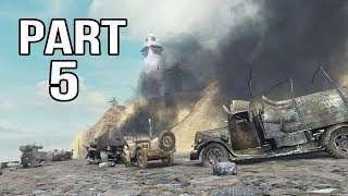 Call of Duty 2 Gameplay Walkthrough Part 5 - German Campaign - Suez Canal