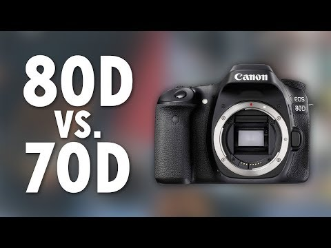 Canon 80D vs. 70D (Is It Worth The Upgrade?)