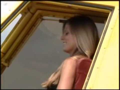 Hot Sexy Girl Pilot Sprays Her First Field video