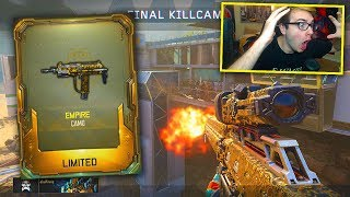 HITTING TRICKSHOTS WITH THE *NEW* EMPIRE LIMITED EDITION CAMO ON BO3! (BO3 Trickshotting)