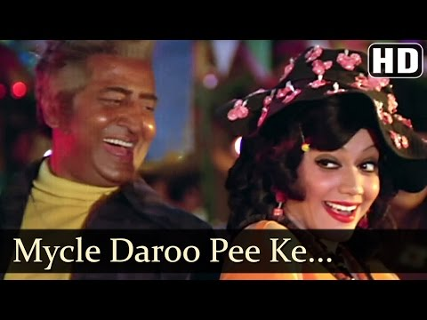 Daroo Ki Botal - Pran - Majboor - Kishore Kumar - Laxmikant Pyarelal - Hindi Song video