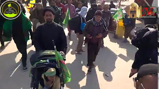 Walking Najaf to Karbala 18 safar 1438 Hijri 19112016 v11