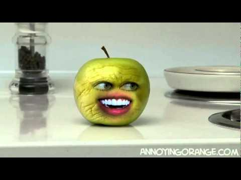 Annoying Orange - Teenage Mutant Ninja Apples - GAG FILMS