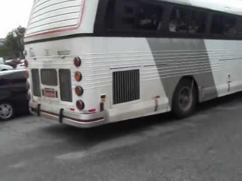 Ronco de um Flecha Azul II Scania K113CL pr�ximo ao terminal Tiet