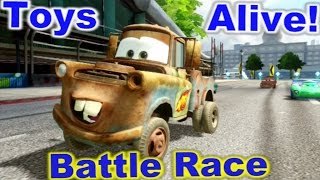 Cars 2: The video game ☆ MATER ☆ Battle Race on Buckingham Sprint.
