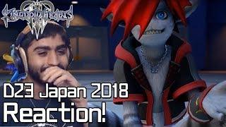 Kingdom Hearts 3 D23 Japan 2018 Trailer & New Utada Hikaru Theme Reaction!