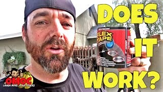 FLEX TAPE - Does This GIMMICK WORK? Watch UNTIL the end. SURPRISE ENDING