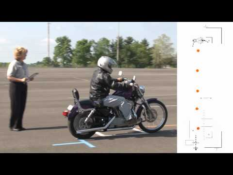 KY Motorcycle Rider Skill Test Instructions