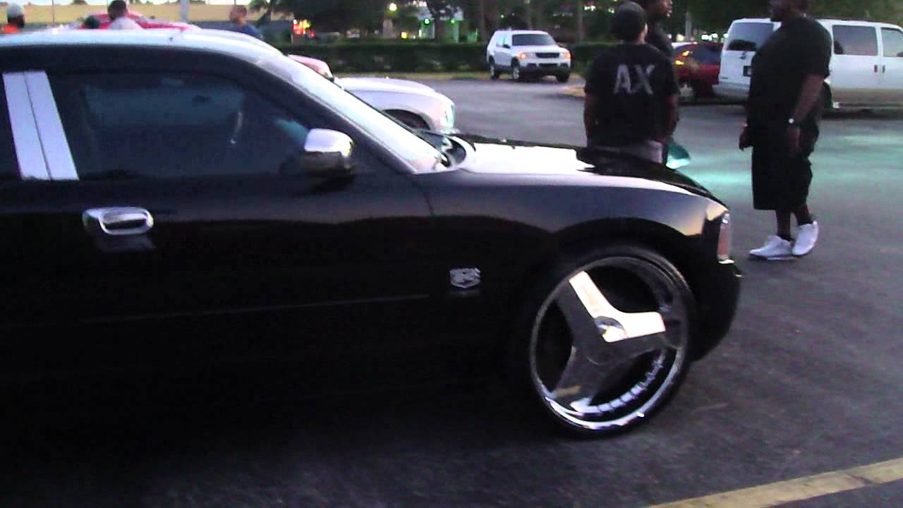 Lil Whytee954 Gettin Footage Of The Dodge Charger On 3