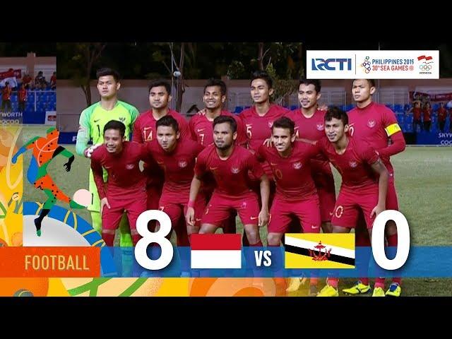 INDONESIA 8 VS 0 BRUNEI DARUSSALAM | SEA GAMES 2019 thumbnail