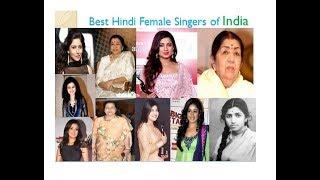 Top 10 best indian singers | Top 10 best Hindi Female Singers of India | Best hindi bollywood Singer