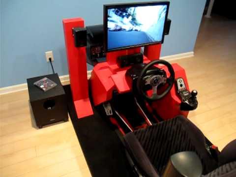 Racing simulator cockpit youtube