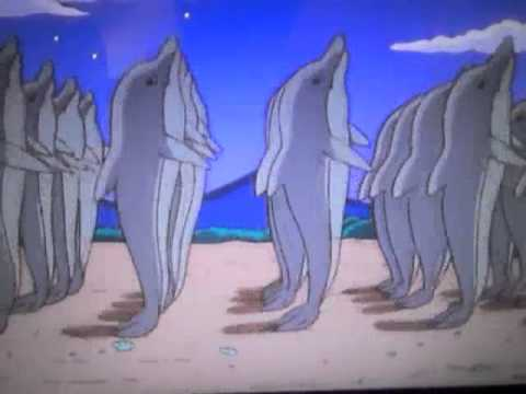 Dolphins in The Simpsons
