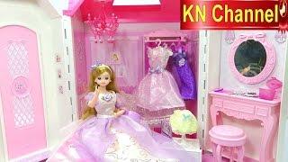 Đồ chơi trẻ em NGÔI NHÀ BÚP BÊ MIMI WORLD HÀN QUỐC đẹp như cung điện Toy review