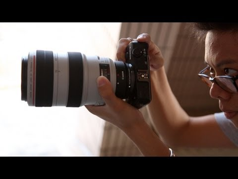 Canon EOS M Hands-on First Impression
